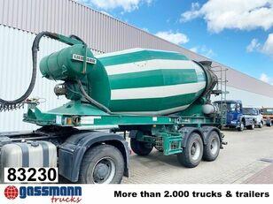 LIEBHERR  10m³  Betonmischer ca.  concrete mixer semi-trailer