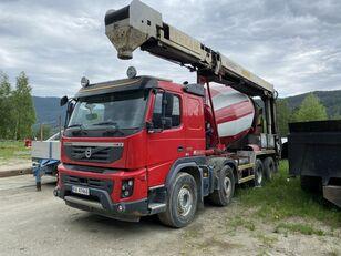 VOLVO FMX 8м3 concrete mixer truck