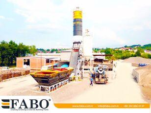 new FABO  COMPACT-60 CONCRETE  PLANT   NEW PROJECT concrete plant