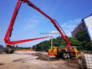 Sany 37m X-4RZ on chassis ISUZU concrete pump
