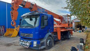 DAK AD14 - CKD on chassis VOLVO FL 290 mobile crane