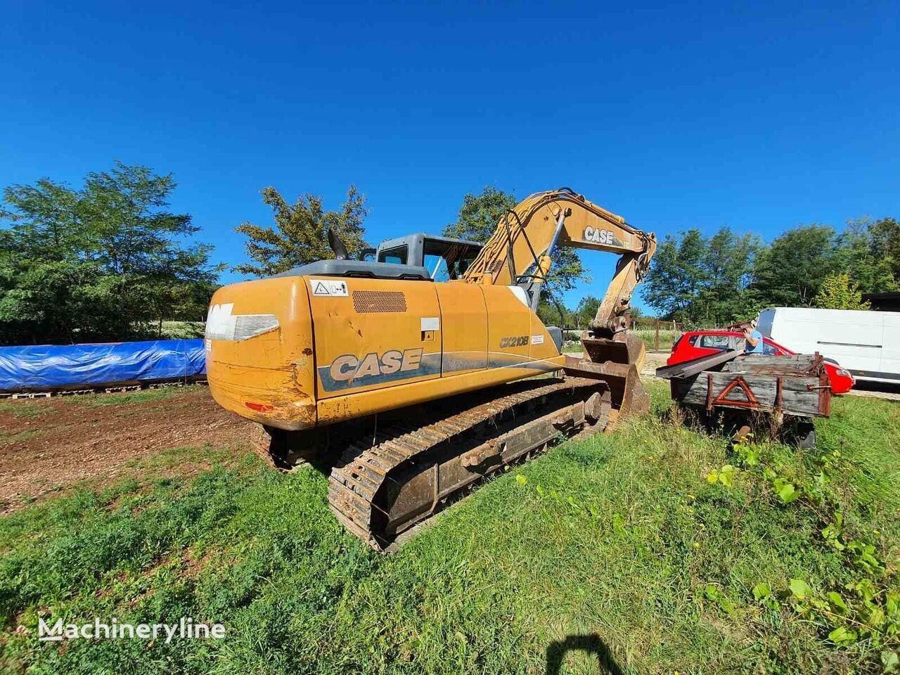 CASE 210B tracked excavator