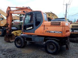 DOOSAN DX140W wheel excavator