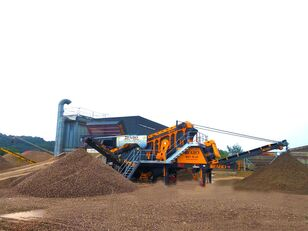new FABO MEY-1645 MOBILE SAND SCREENING & WASHING PLANT crushing plant