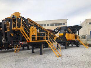 new FABO MTK-65 MOBILE CRUSHING & SCREENING PLANT – SAND MACHINE mobile crushing plant